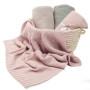 Kocyki dla dzieci_różowy_ColorStories_Cotton Classic