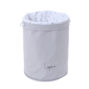Duży miękki kosz na zabawki Lupino Box MilkyWay Grey