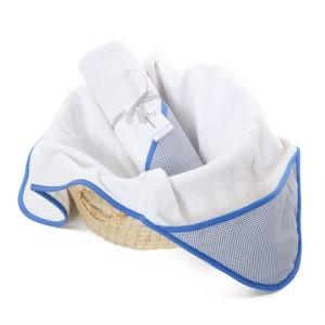 Ręcznik z kapturem Navy Blue 0-4 lat