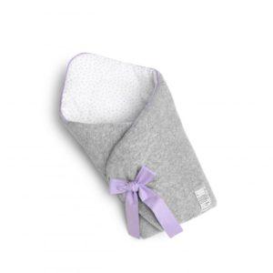 Rożek niemowlęcy Lavender Dots