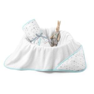 Ręcznik bawełniany z kapturem 90×90 cm MilkyWay Mint M