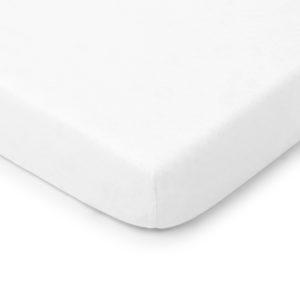 Prześcieradło<b>do łóżeczka 120x60cm</b> <em>White</em>