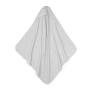 Ręcznik bawełniany z kapturem 90×90 Szary MilkyWay Grey M