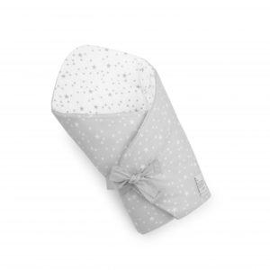 Rożek niemowlęcy MilkyWay Grey/White
