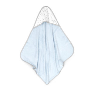 Ręcznik bambusowy z kapturem 70×70 cm Niebieski MilkyWay  S