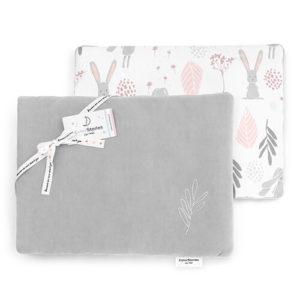 Poduszka <b>dla niemowlaka</b> <em>Bunny Grey</em>