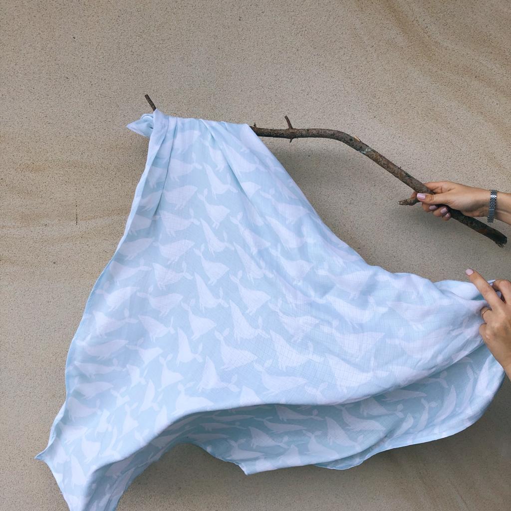 otulacz bambusowy whales
