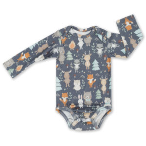 Body <b> longsleeve  </b><em> Woodland Grey 62cm </em>