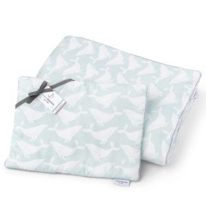Pościel <b>dla niemowlaka</b> <em>Whales Aqua</em>