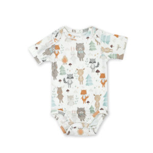 Body <b>shortsleeve</b> <em>Woodland 62 – 68cm</em>