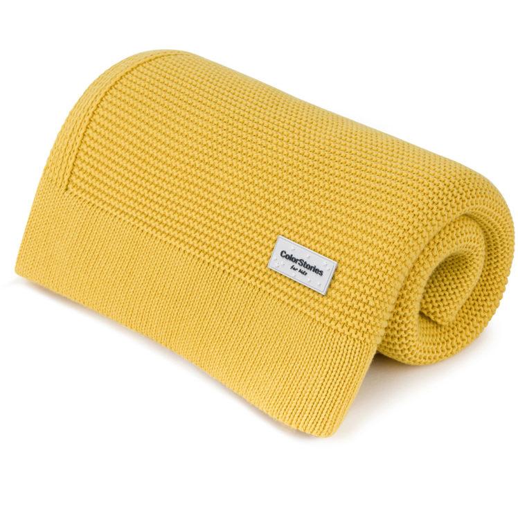 kocyk_bambusowey_S_miodowy_żółty