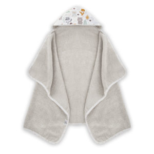 Ręcznik z kapturem <i> 70x125cm </i> <b>Woodland</b><em> Beżowy </em>