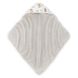 Ręcznik z kapturem <i>85x85cm</i> <b> Woodland </b><em> Beżowy </em>