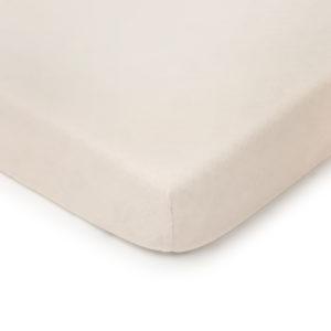 Prześcieradło <b>do łóżeczka 140x70cm</b> <em> Soft and Natural Beżowe</em>