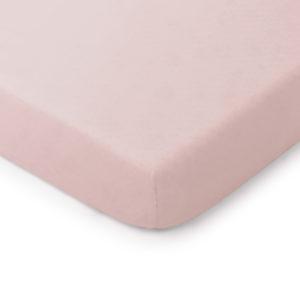 Prześcieradło <b>do łóżeczka 140x70cm</b> <em> Soft and Natural Brudny róż </em>